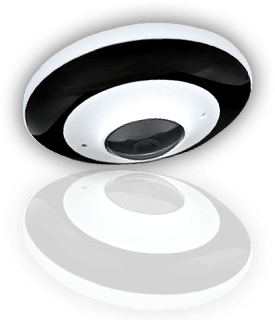 A fisheye lens is an ultra wide-angle lens that produces strong visual distortion intended to create a wide panoramic or hemispherical image. ... The angle of view of a fisheye lens is usually between 100 and 180 degrees while the focal lengths depend on the film format they are designed for.